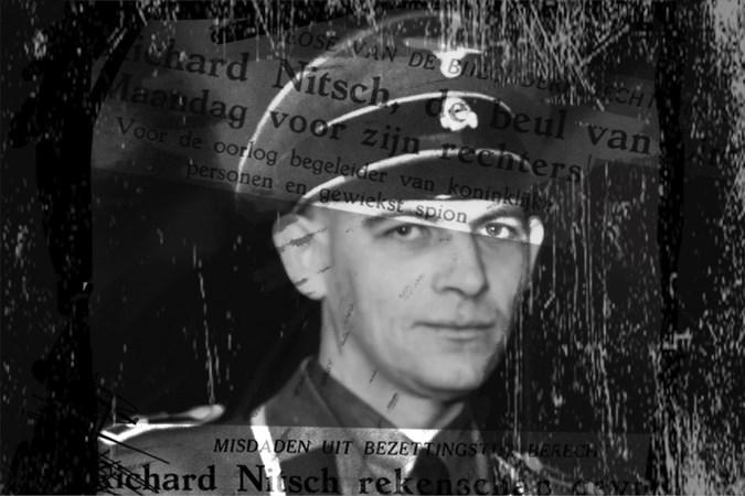 Stenotypiste frau Irmgard Stockebrand, de vrouw achter 'Kopfjäger' Richard Nitsch