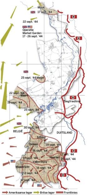 Week 3 van de Limburgse bevrijding: Haven Maasbracht wordt scheepskerkhof en bommen op Rimburgerbos