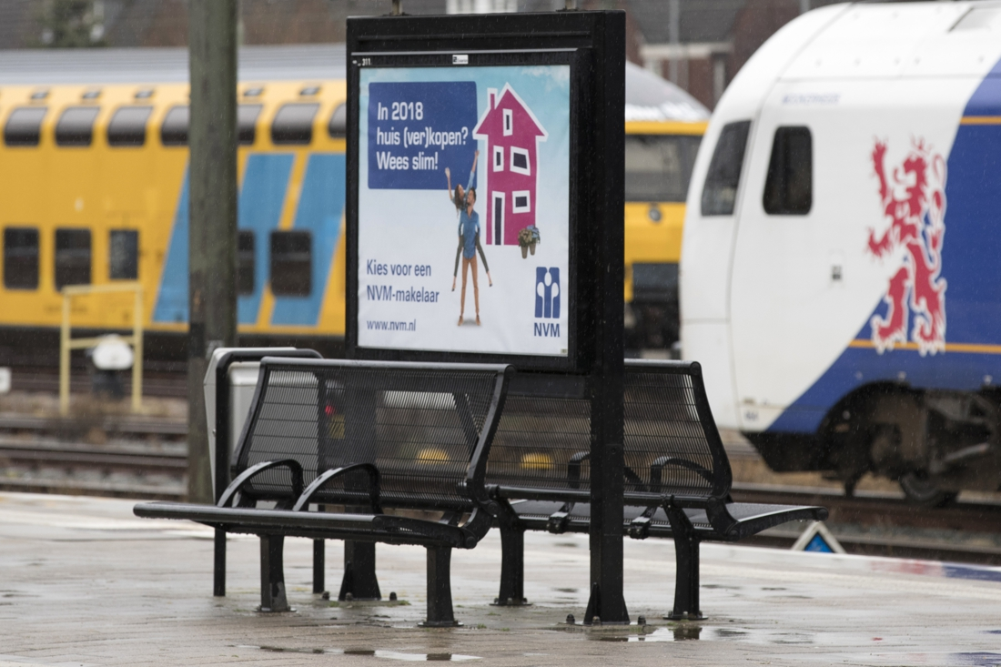 Nieuwe perron voor station Bunde - De Limburger