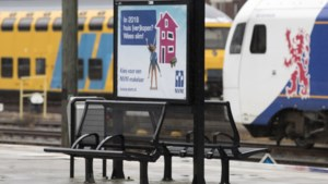 Nieuwe perron voor station Bunde