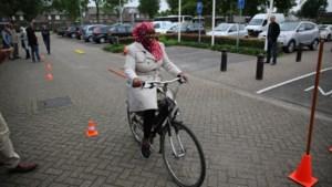 Nieuwkomers krijgen fietsles in Sittard-Geleen