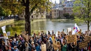 Massale opkomst wereldwijd klimaatprotest, mars in Den Haag van start