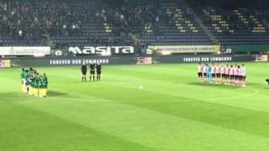 Ook Fortuna en supporters brengen eerbetoon aan Fernando Ricksen