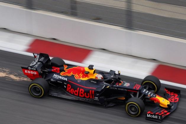 Max Verstappen vijfde in derde training Sotsji