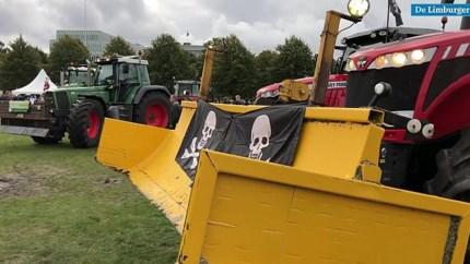 Limburgse boeren: 'Deze demonstratie is nog maar het begin'