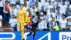 Real ontsnapt tegen Club Brugge aan nederlaag