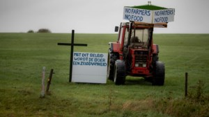 Ook in weiland Rijksweg Gulpen boerenprotest