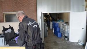 Ontmanteling chemische drugsfabriek in Kerkrade duurt dagen