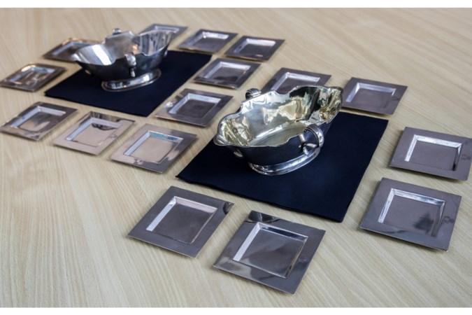 Geroofde Duitse zilverschat duikt na ruim halve eeuw op in Heerlens café