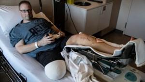 Been kwijt na horroravond op kermis: vrienden zamelen geld in voor zwaargewonde Marco