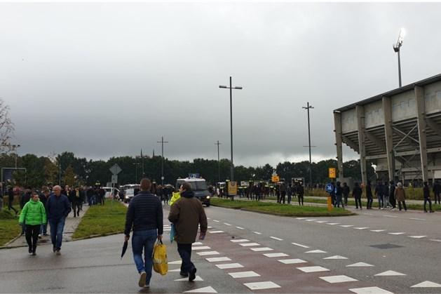 Politie zoekt daders vechtpartij na afloop van Fortuna-Feyenoord