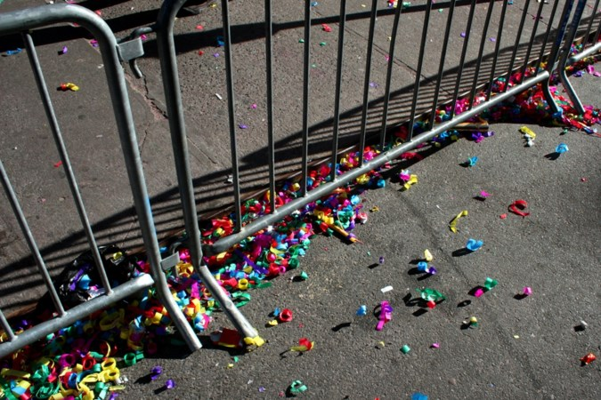Kerkrade doet plastic snippers en confetti in de ban