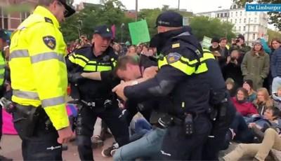 ME omsingelt honderden klimaatactivisten in Amsterdam, tientallen opgepakt