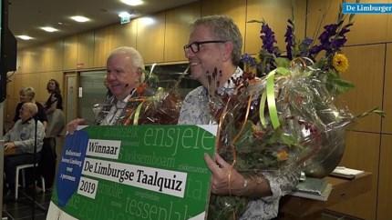 Karel Ruiten en Henk Hover winnen Limburgse Taalquiz