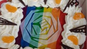 Regenboogvlaai voor college Echt-Susteren