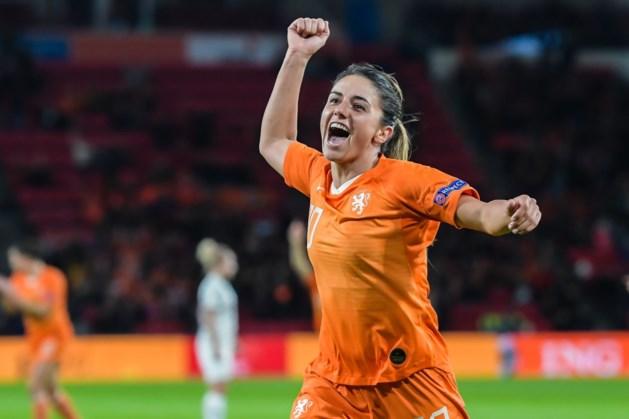 Voetbalsters blijven foutloos op weg naar EK