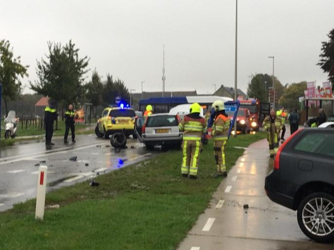 Vertraging in ochtendspits door buien en ongelukken in Limburg