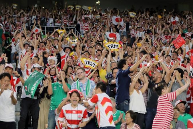 Miljoenen Japanners juichen om Wimpie tijdens WK rugby