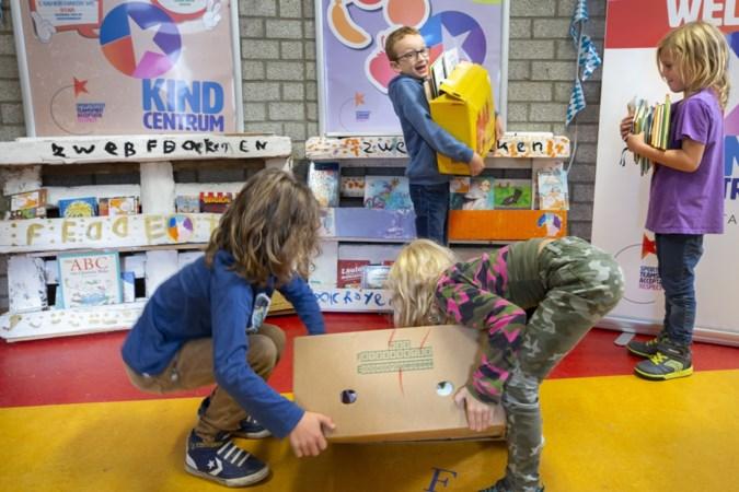 Zwervende kinderboeken op drie locaties van Kindcentrum Sittard