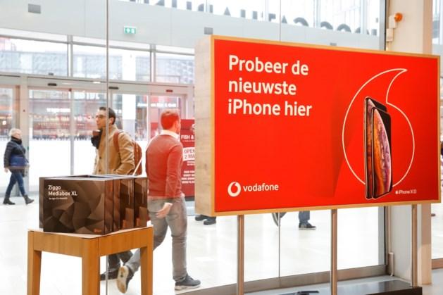 'Vodafone sluit geen Nederlandse winkels'
