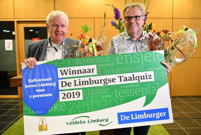 Finale Limburgse Taalquiz: Zweten op 'bestaeke' en 'repkedepeu'