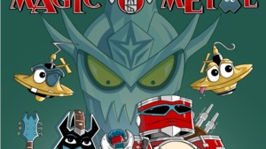 Stripboek Magic O Metal moet kinderen stimuleren om metalmuziek te maken