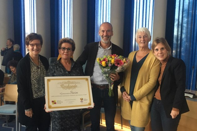Stein meest mantelzorgvriendelijke gemeente; Kerkrade, Venray en Sittard-Geleen verslagen