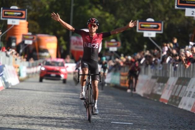 Tourwinnaar Bernal wint Italiaane eendagskoers Gran Piemonte