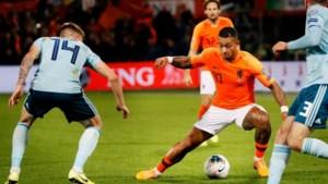 Oranje zonder Memphis tegen Wit-Rusland