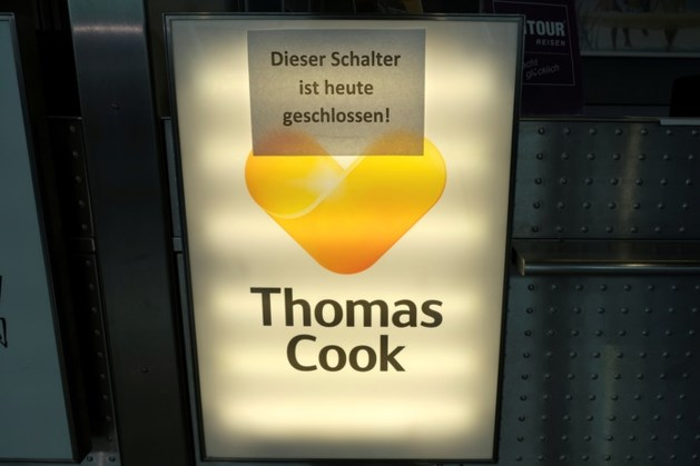 'Ook Duitse filialen Thomas Cook overgenomen'