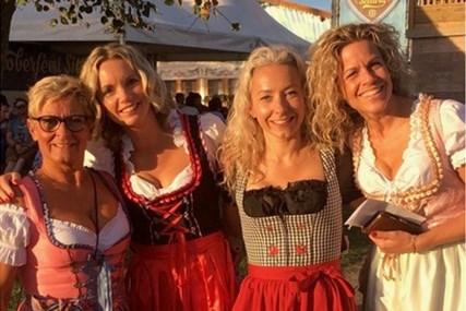 Haagse Ria idolaat van Oktoberfeest Sittard: 'Het is met de jaren gegroeid'