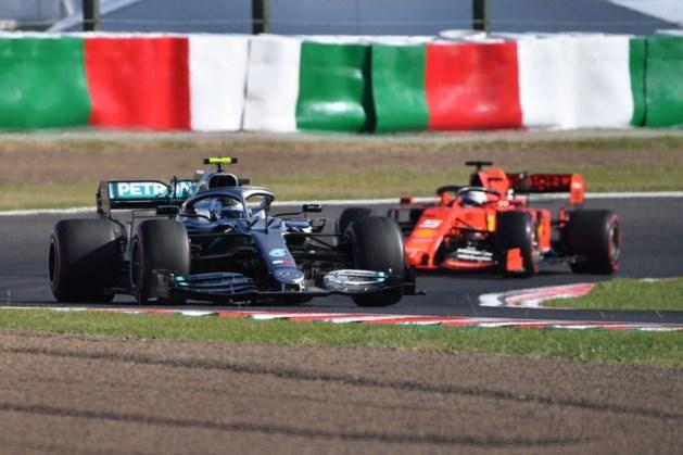 Bottas wint GP van Japan, nachtmerrie voor Verstappen