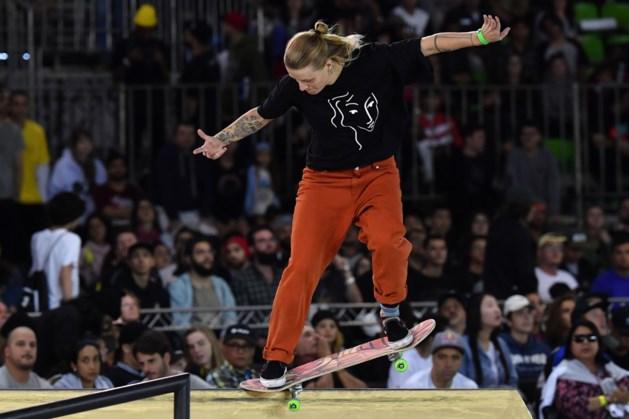 Skateboardster Candy Jacobs grijpt naast EK-medaille
