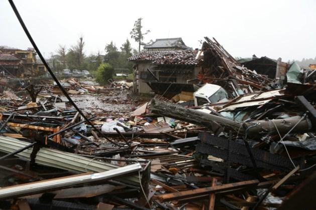 Dodental door tyfoon in Japan loopt verder op