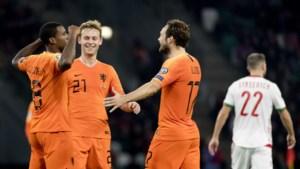 Oranje zet dankzij Wijnaldum reuzenstap op weg naar EK voetbal