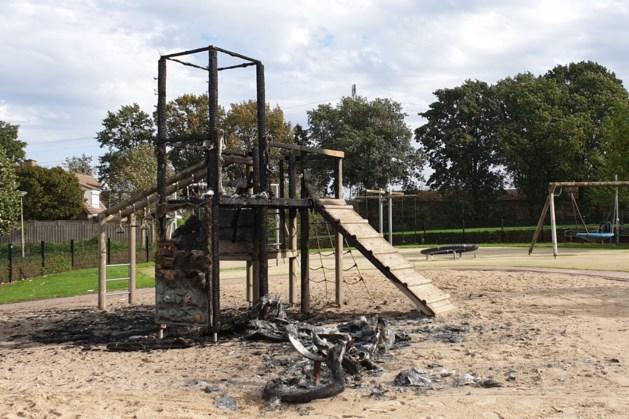 Klimtoestel voor kinderen in brand gestoken: 'Wie doet nou zoiets?'