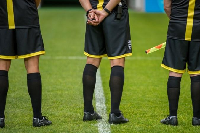 Vroegtijdig einde duel Venlosche Boys door blessure scheids