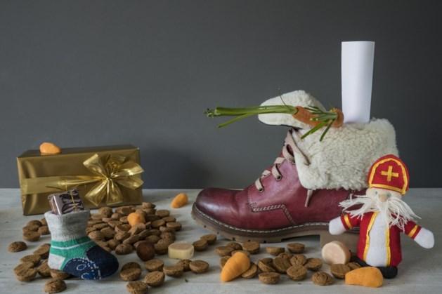 Knutselen voor Sinterklaas in Gronsveld