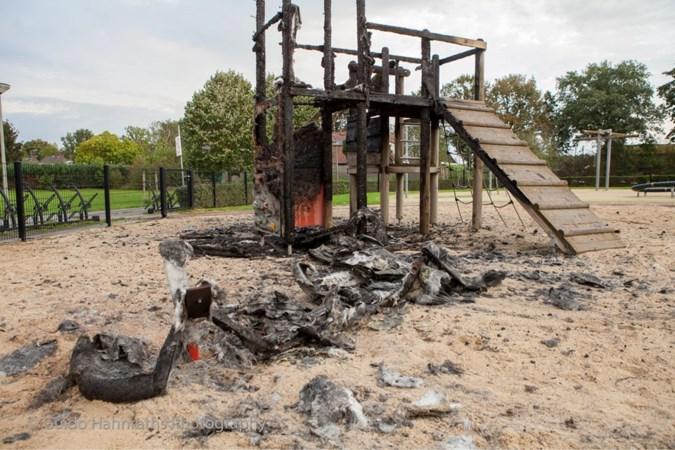 Brandstichters speeltuin in Obbicht melden zichzelf bij politie