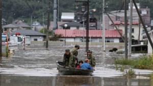 Dodental tyfoon Hagibis in Japan stijgt naar 66