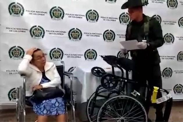 Hoogbejaarde gesnapt met 3 kilo cocaïne in rolstoel