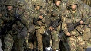 Militairen oefenen in Vaals