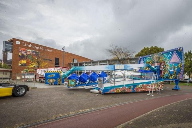 'Kermis Venlo buiten vakantie gunstig voor komst attracties'