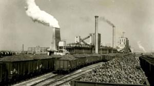 De cokesfabriek van Staatsmijn Emma