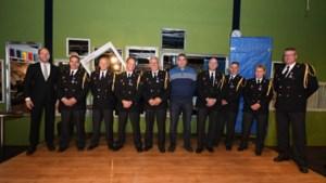 Horst aan de Maas eert jubilarissen brandweer