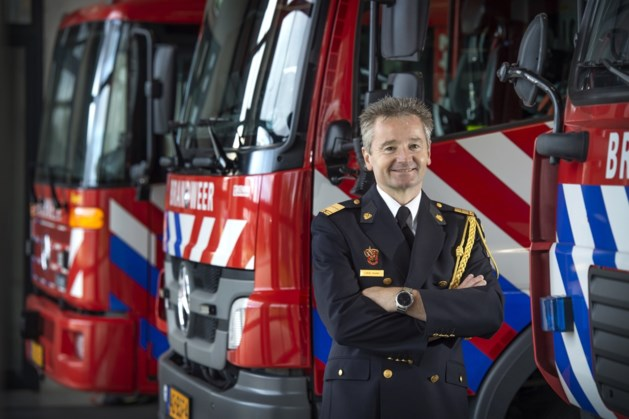 Léon Houben nieuwe commandant Brandweer Zuid-Limburg