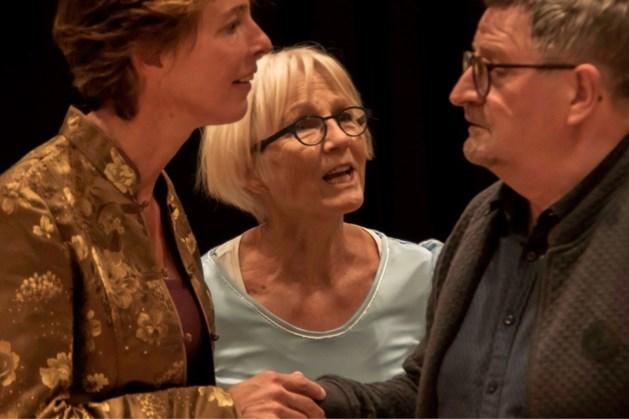 Theatergroep Habbekrats speelt tragikomedie Gouwe Handjes in Hoes van Bree