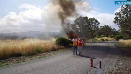 Zonneauto TU Delft compleet verwoest na brand