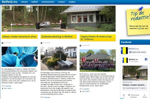 Geen nieuw weekblad in Belfeld