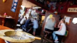 Handhaving verbod rookruimtes pas vanaf april 2020